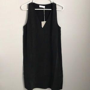 Everlane silk v-neck tank dress. NWT